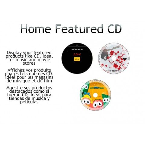 Updated free #prestashop module for home products Homefeatured CD 1.5 http://catalogo-onlinersi.net/en/featured-products-prestashop-modules/366-home-featured-cd-prestashop.html