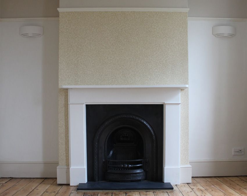 The Time Travelling Fireplace 1950s To 1900 In Pictures