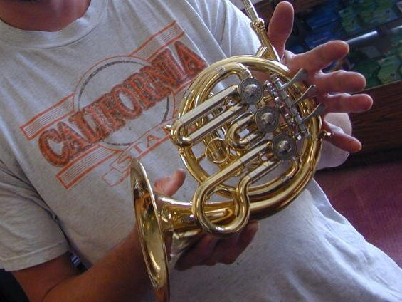 A Piccolo French Horn French Horn Music French Horn Horns