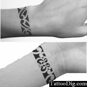 Tribal Bracelet Wrist Tattoo Pictures Photos Pics Images Tribal Wrist Tattoos Tribal Tattoos Tattoos For Women