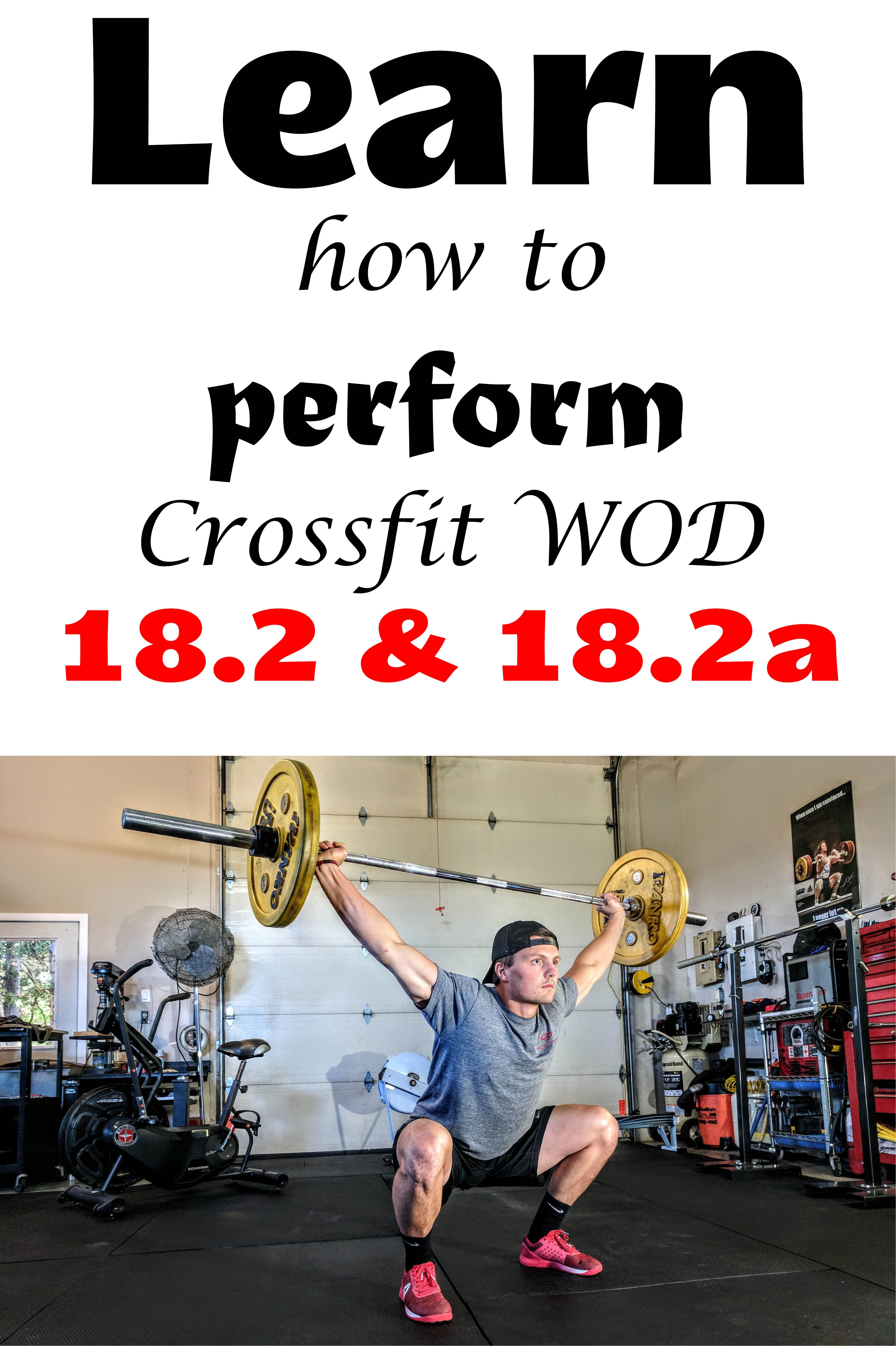Crossfit Games 2018 Crossfit Workout 18 2 And 18 2a Crossfit Wod