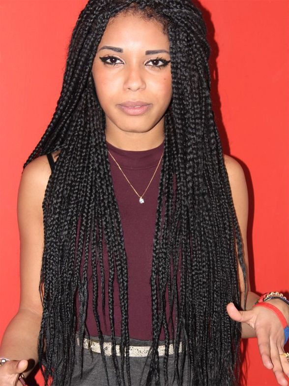 Fantastic 1000 Images About Hair On Pinterest Box Braids Protective Short Hairstyles Gunalazisus