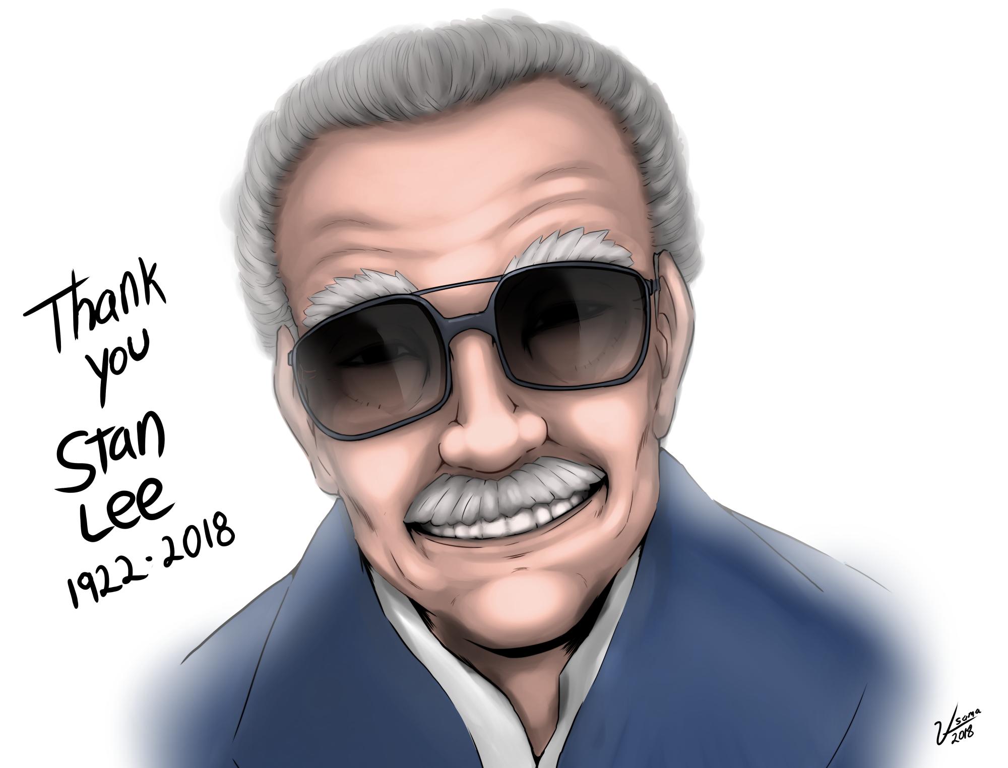 My Tribute Drawing To Stan Lee Stanlee Marvel Marvelcomics Avengers Drawings Marvel Tribute Stan Lee