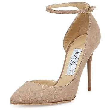 discount pre order Jimmy Choo Suede Ankle Strap Pumps affordable cheap online cheap order sast online cheap prices authentic dP3TJREc