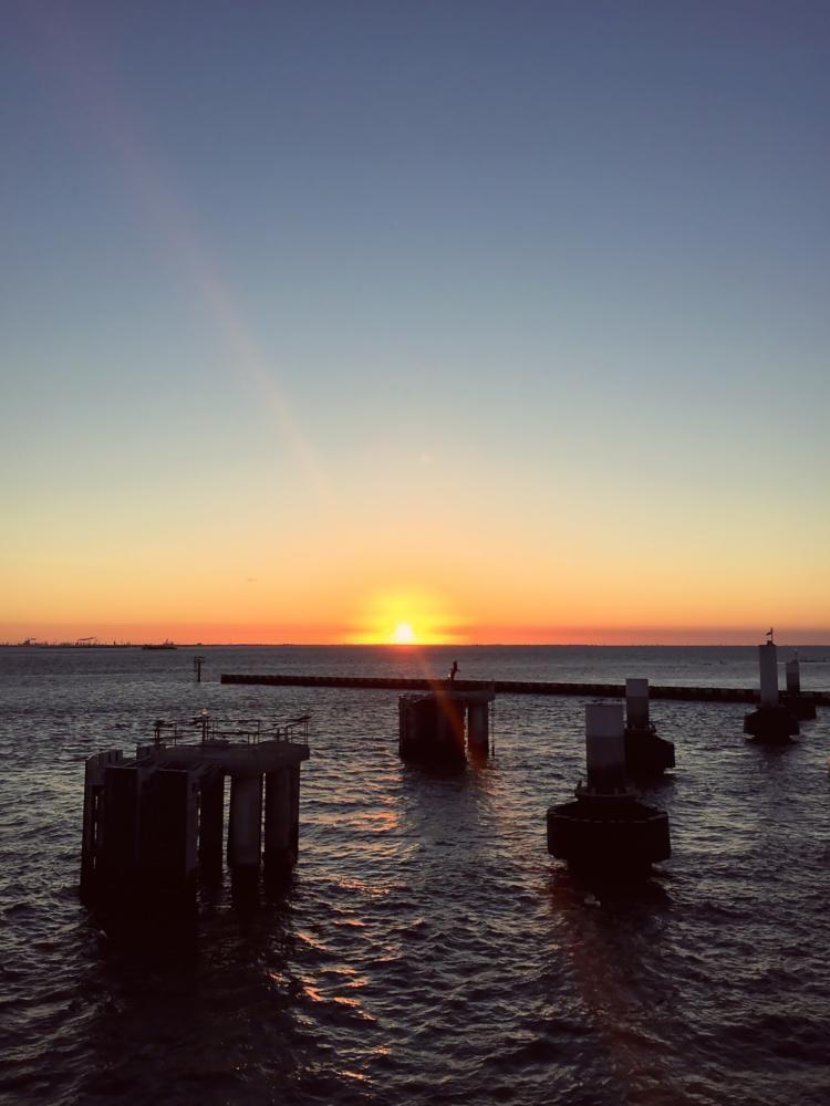 Galveston Sunset by Berlins Calix
