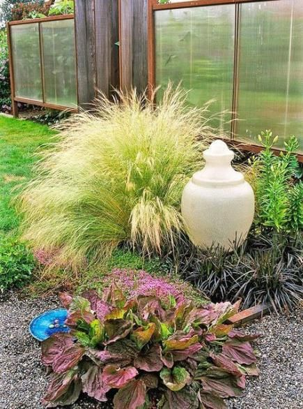 24 Low Cost Ways To Power Up Your Homes Curb Appeal: 58 Trendy Backyard Landscaping No Grass Curb Appeal #backyard #landsca…