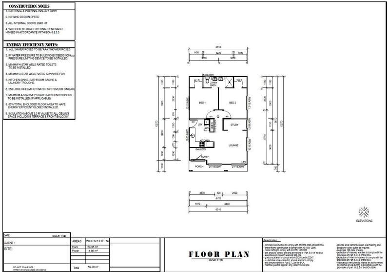 635 Sq Feet Or 59 8 M2 Hamptons Style 2 Bedroom Granny Flat Small Home Design In 2020 Small House Design Hamptons Style Small House