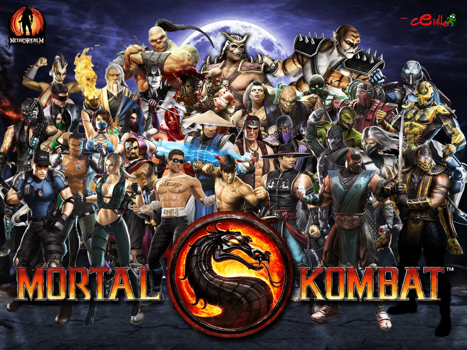 Mortal Kombat 9 is my favorite of the franchise  Perfect roster once