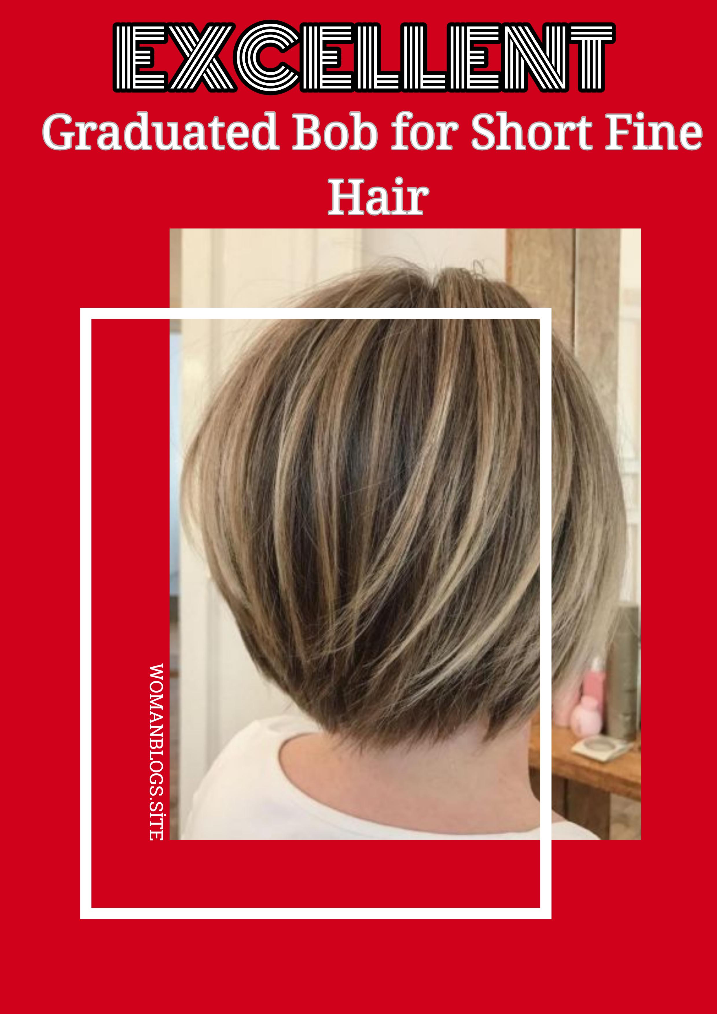 44++ Graduated bob haircuts for fine thin hair ideas in 2021