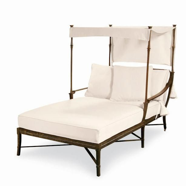 Andalusia Double Chaise Canopy   Home   Pinterest
