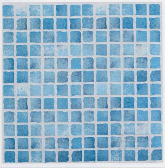 Blue Mosaic Tiles Perfect For The Bathroom