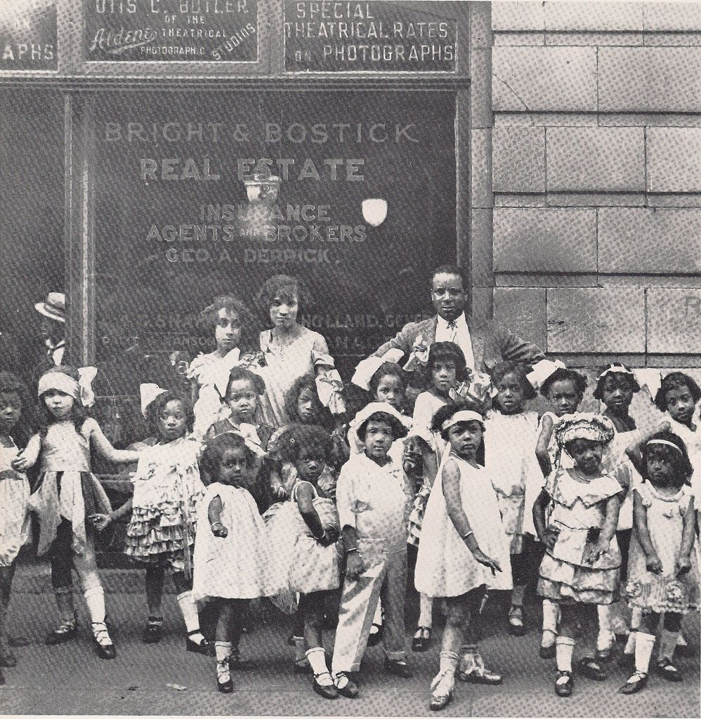 African American Fashion Show: (Undated 1920's) Childrens Fashion Show, Harlem, NYC0001