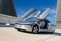 Volkswagen XL1 plug-in hybrid will be the worlds most fuel-efficient production car