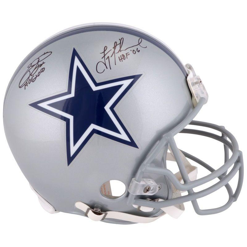san francisco 5b0db fcc01 Emmitt Smith, Troy Aikman Dallas Cowboys Fanatics Authentic ...