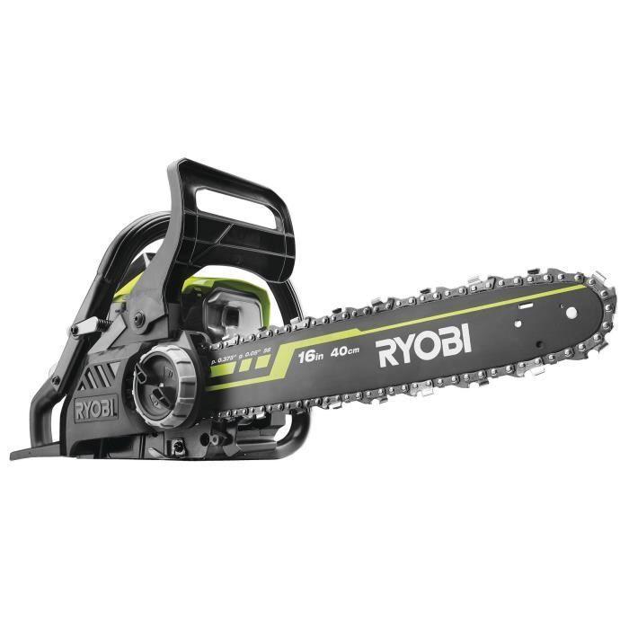 Ryobi Tronconneuse Powrxt 37 Cm Guide 40 Cm In 2020 Ryobi Chainsaws For Sale Chainsaw