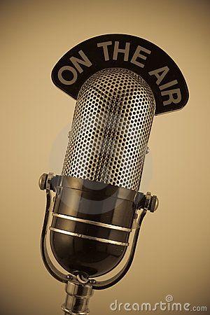 Vintage Microphone Vintage Radio Vintage Microphone Radio