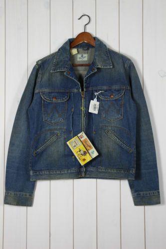 New Wrangler Blue Bell 24mjz 1964 66 Zipper Denim Jacket Vintage