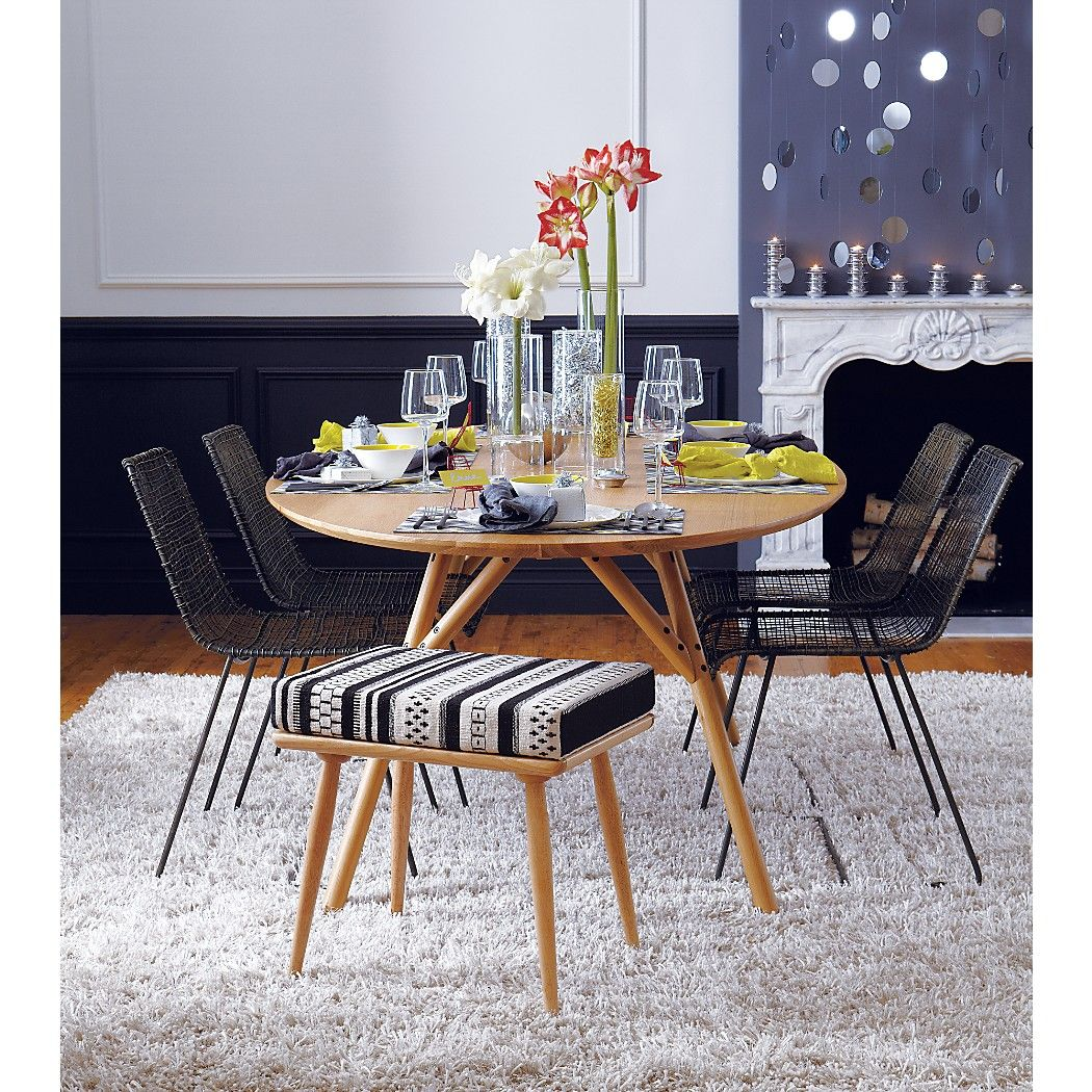 Reed Black Wire Chair Reviews Dining Chairs Chair Dining Table