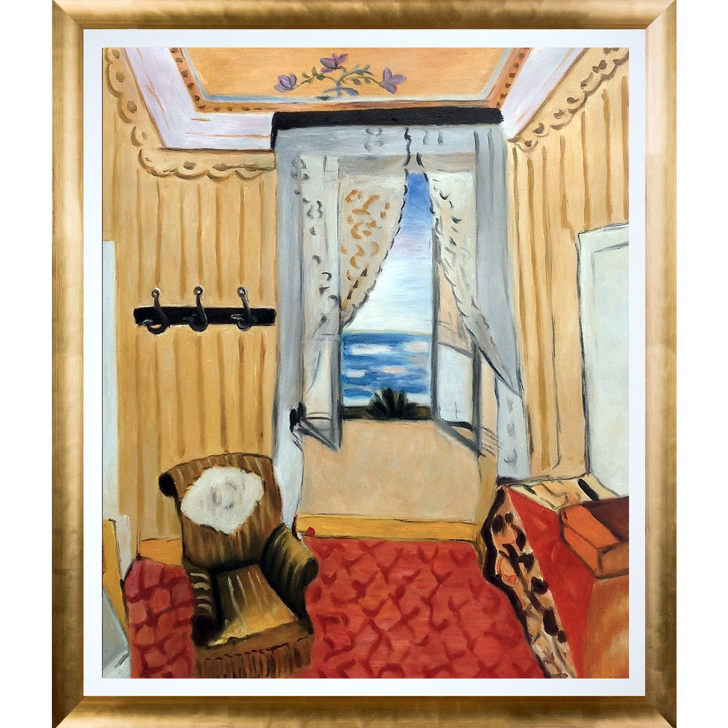 La Pastiche Henri Matisse \'My Room at the Beau-Rivage\' Hand Painted ...