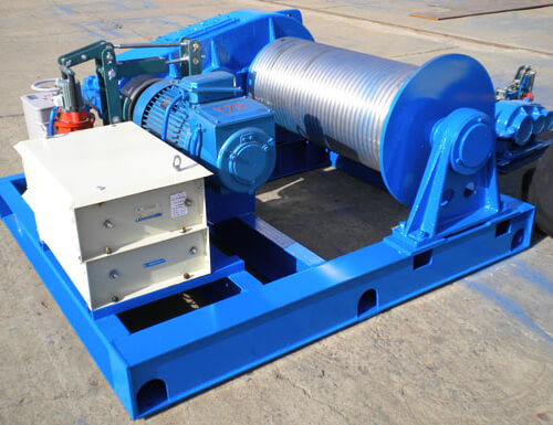 20 Ton Electric Winch Electric Winches For Construction Mine Marine In 2020 Electric Winch Winch Hydraulic Winch