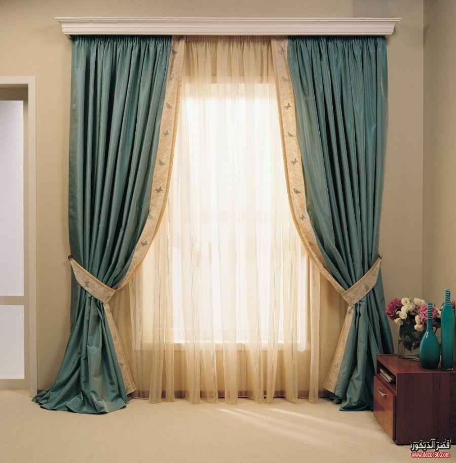 موديلات ستائر مودرن لغرف النوم والصالونات وغرف الاطفال والريسبشن قصر الديكور Curtain Designs Curtain Decor Stylish Curtains