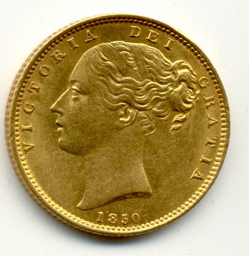 COINS FOR SALE IN LONDON 1850 UNITED KINGDOM QUEEN VICTORIA