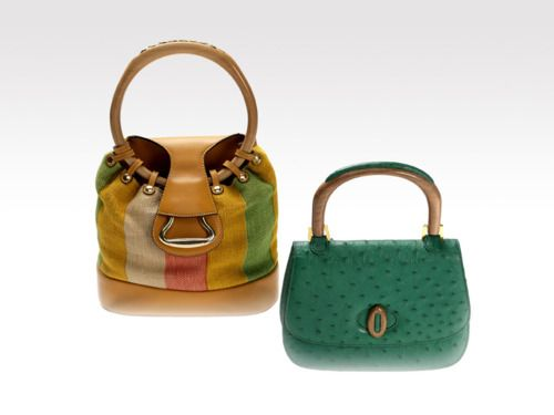 Gucci Museo Bags Styles Of Bags With Wood Handle 1950s And 1960s