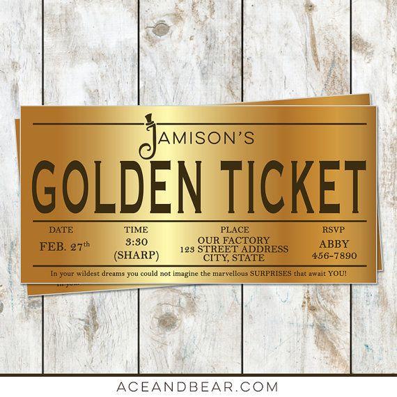 Willy wonka birthday golden ticket birthday invitation golden willy wonka golden ticket birthday invitation willy by rocketliv filmwisefo