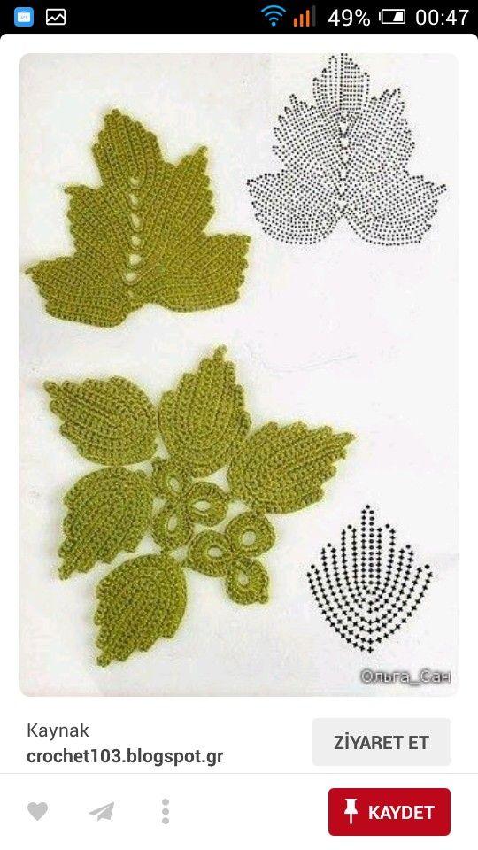 Pin de Maria Suarez Cabrera en ROCETAS/hojasFLORES/ | Pinterest ...