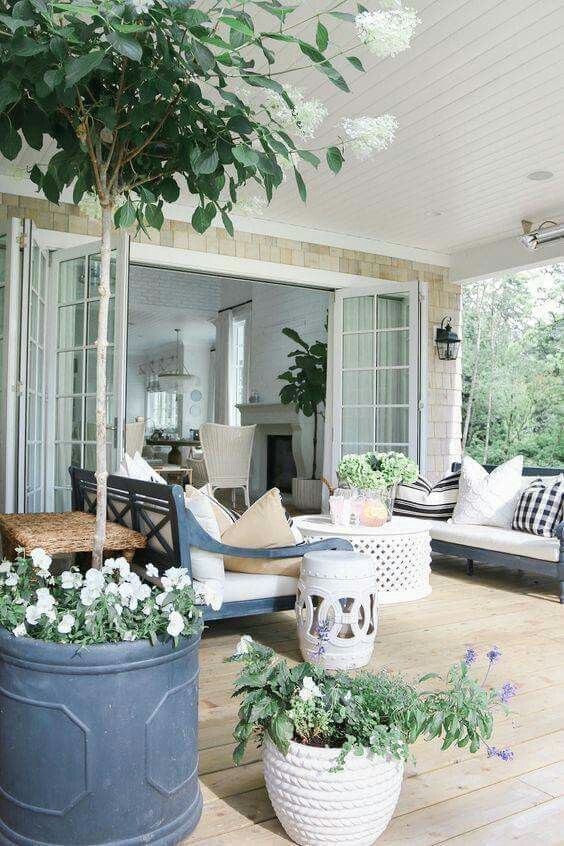Idea For Back Porch From The Great Room Outdoor Decor Outdoor