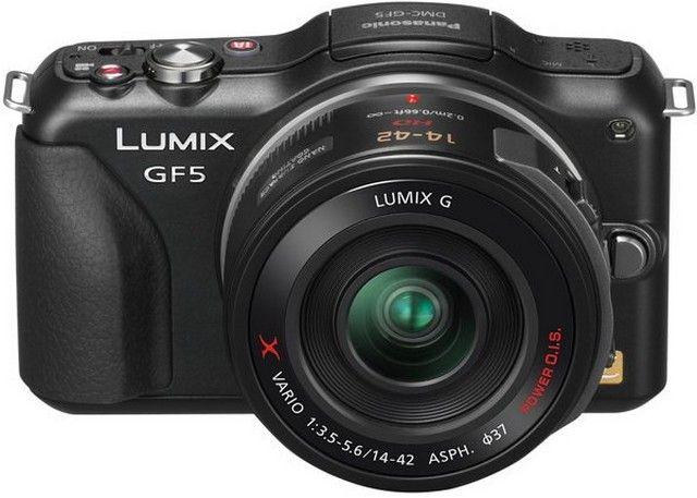 Le Panasonic Lumix DMC-GF5 disponible en mai prochain !