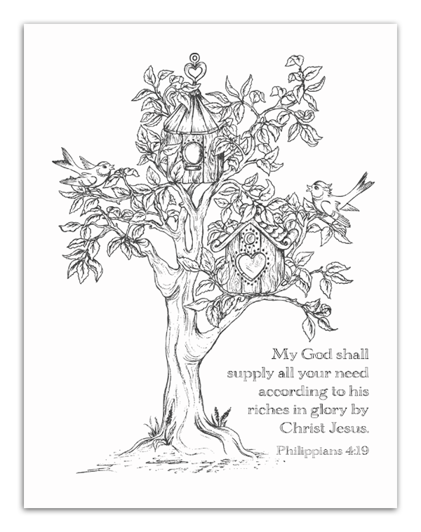Coloring Book Bible Verses : Free printable scripture verse coloring pages verses
