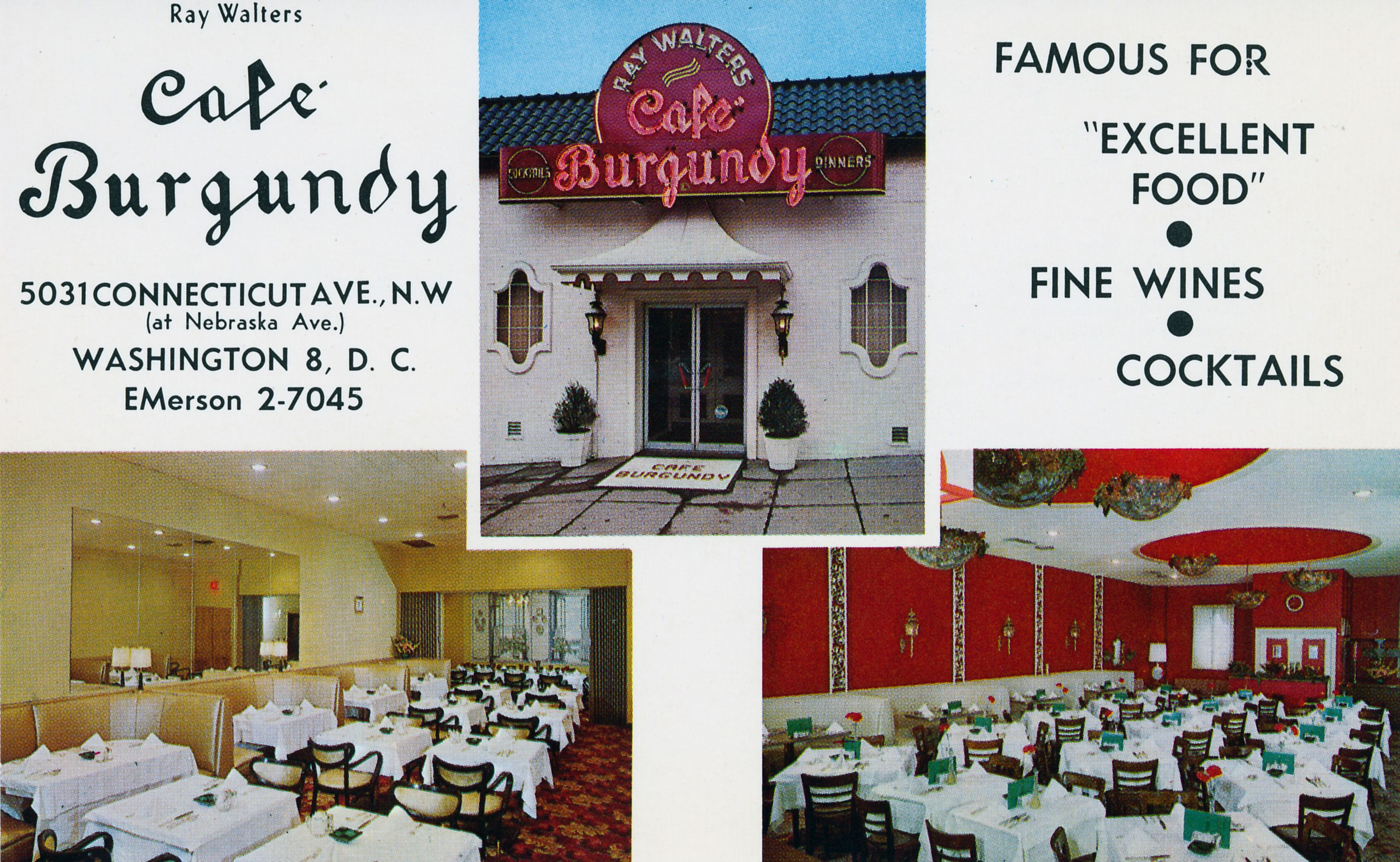 Opened at 5031 Connecticut Avenue NW in 1954 by Ray