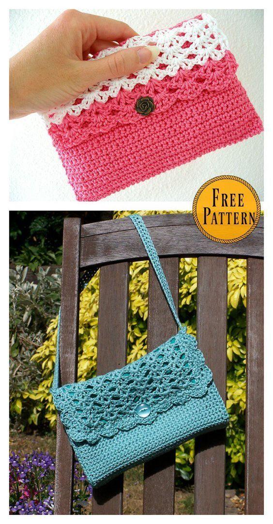 Magnífico Patrón Caso Crochet Viñeta - Manta de Tejer Patrón de ...