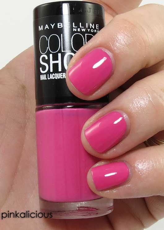 7 Hot Shades of Maybelline Color Show Nail Polish | Beauty Junkies ...