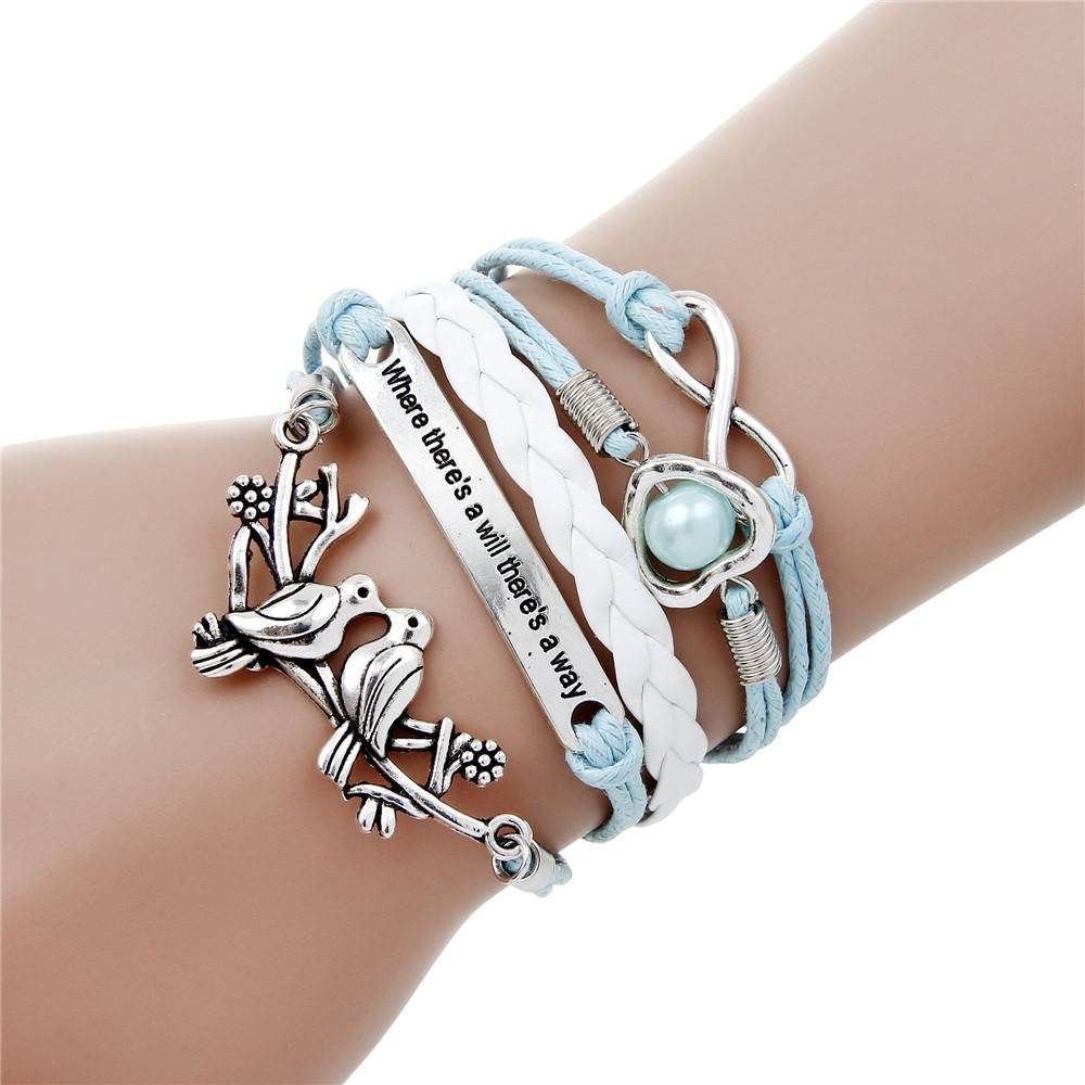 Charm bracelet for girlsfashion jewelry charm braceletwomenus