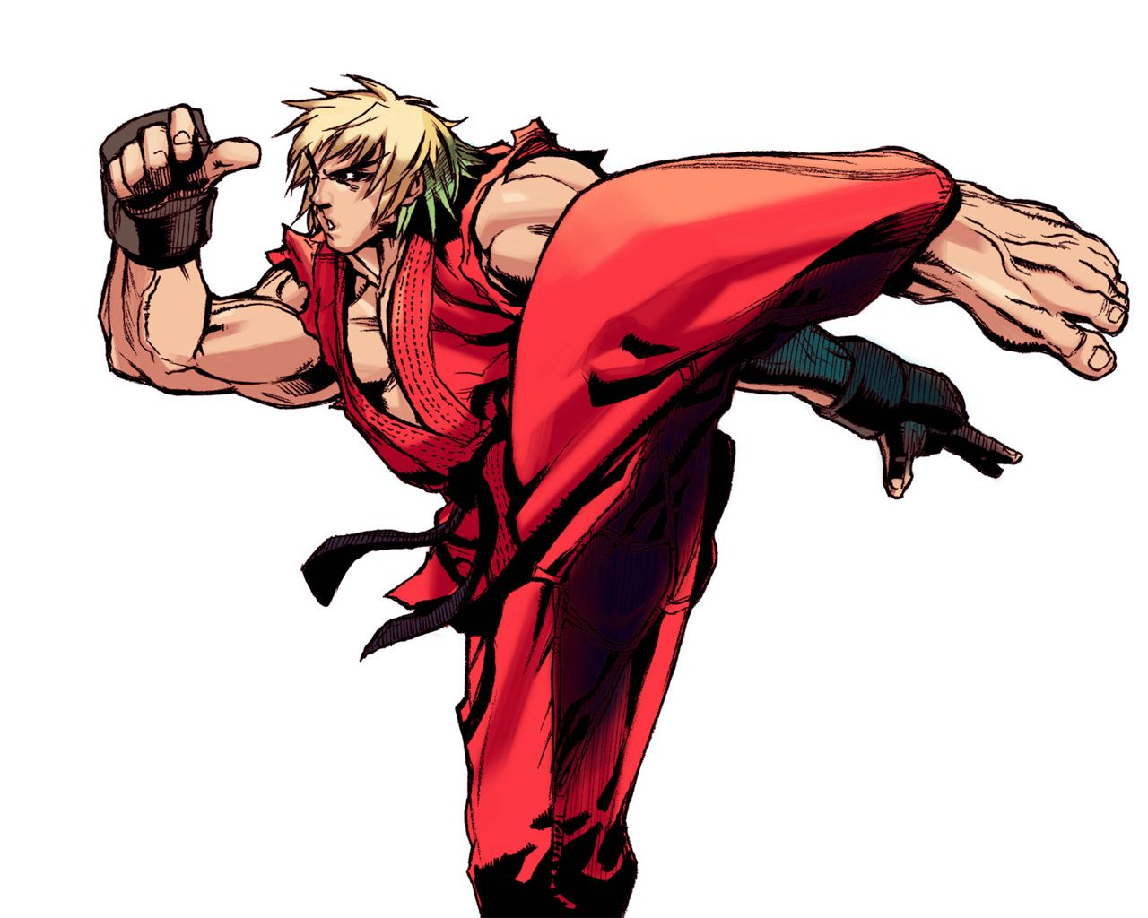 Ken Masters Street Fighter Wallpaper 1280x1024