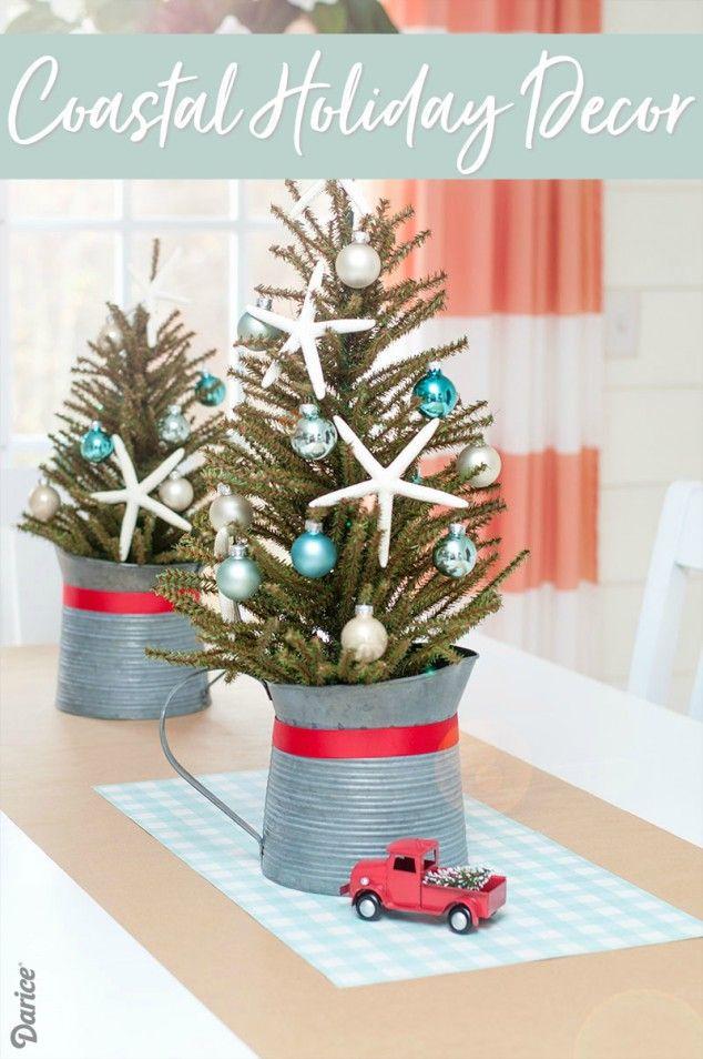 COASTAL CHRISTMAS DECOR Coastal christmas, Coastal and Christmas tree - coastal christmas decorations