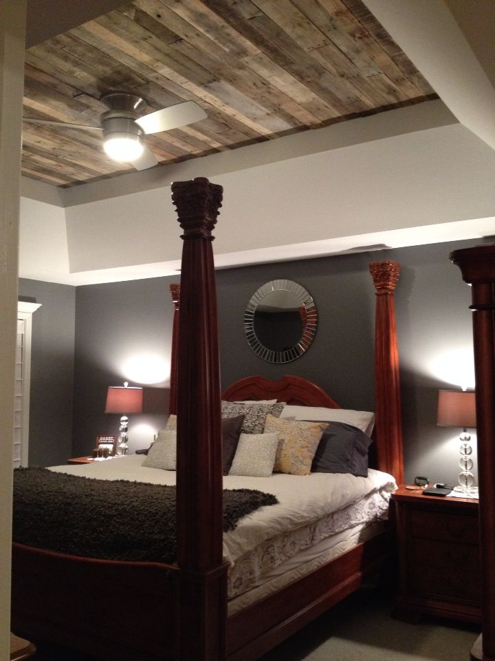 90 Degree Tray Ceiling With Shiplap Detail I1036b Ceiling