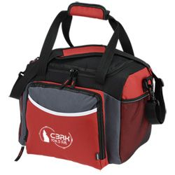 """""""Great for day trips with our girls. Keeps our favorite beverages cold and ready and gives us a place to stash any """"cool"""" finds we come across in our travels."""" Matt with 4imprint 1 year"""