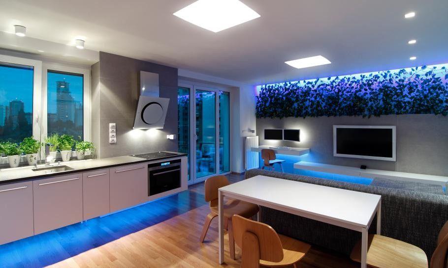 hoch zu beenden kleinen slowakischen wohnung verbessert mit led beleuchtung von vorgestellt. Black Bedroom Furniture Sets. Home Design Ideas