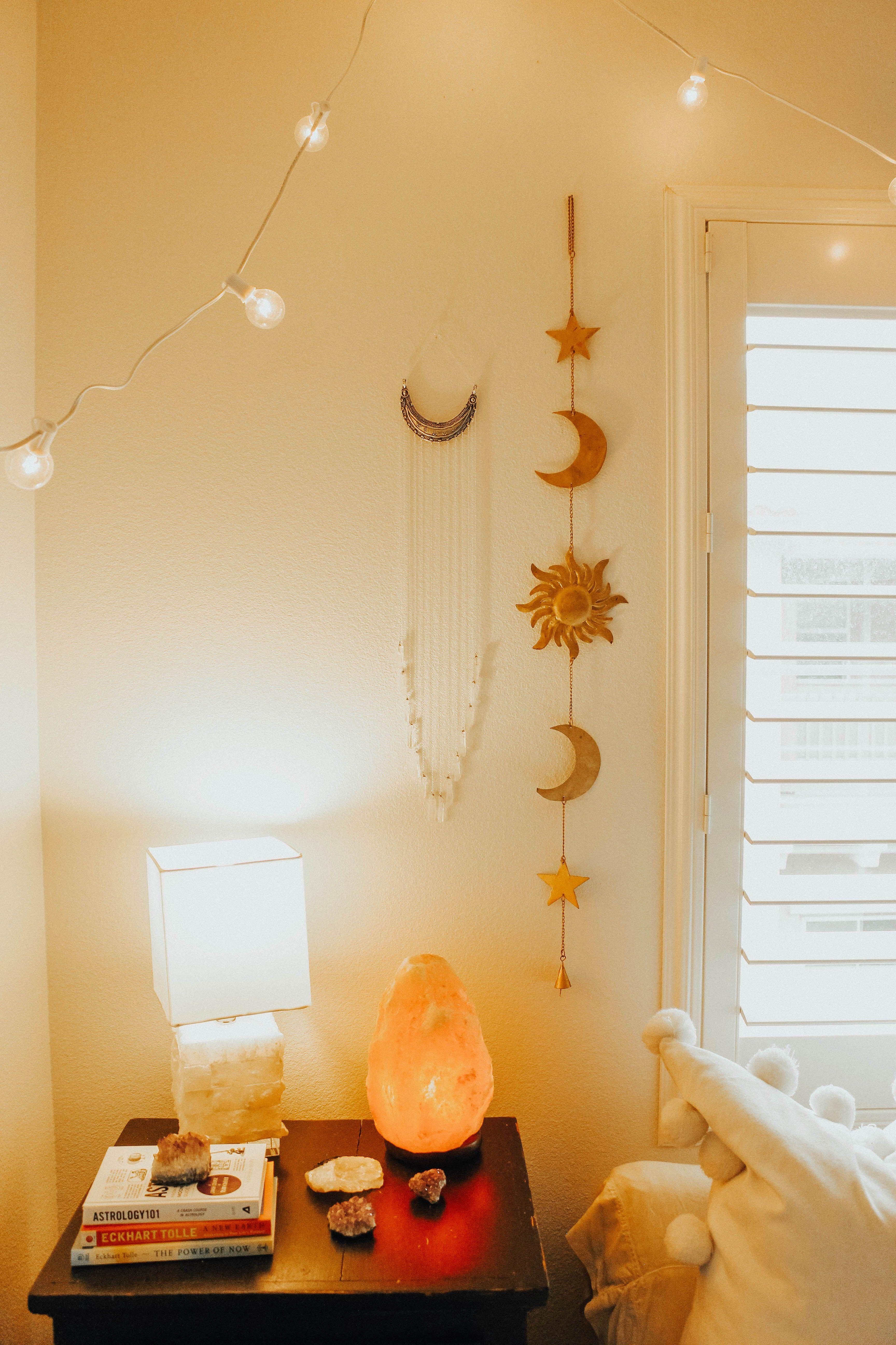 Celestial Sun and Moon Wall Hanging Decor   shop   Lady Scorpio ...