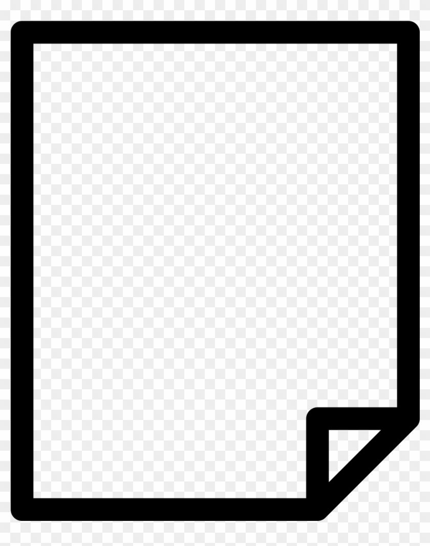 Find Hd Matt Paper Icon Paper With Folded Corner Icon Hd Png Download Is Free Png Image Download And Use It For Your Non Commercial Projects Paper Icon Png