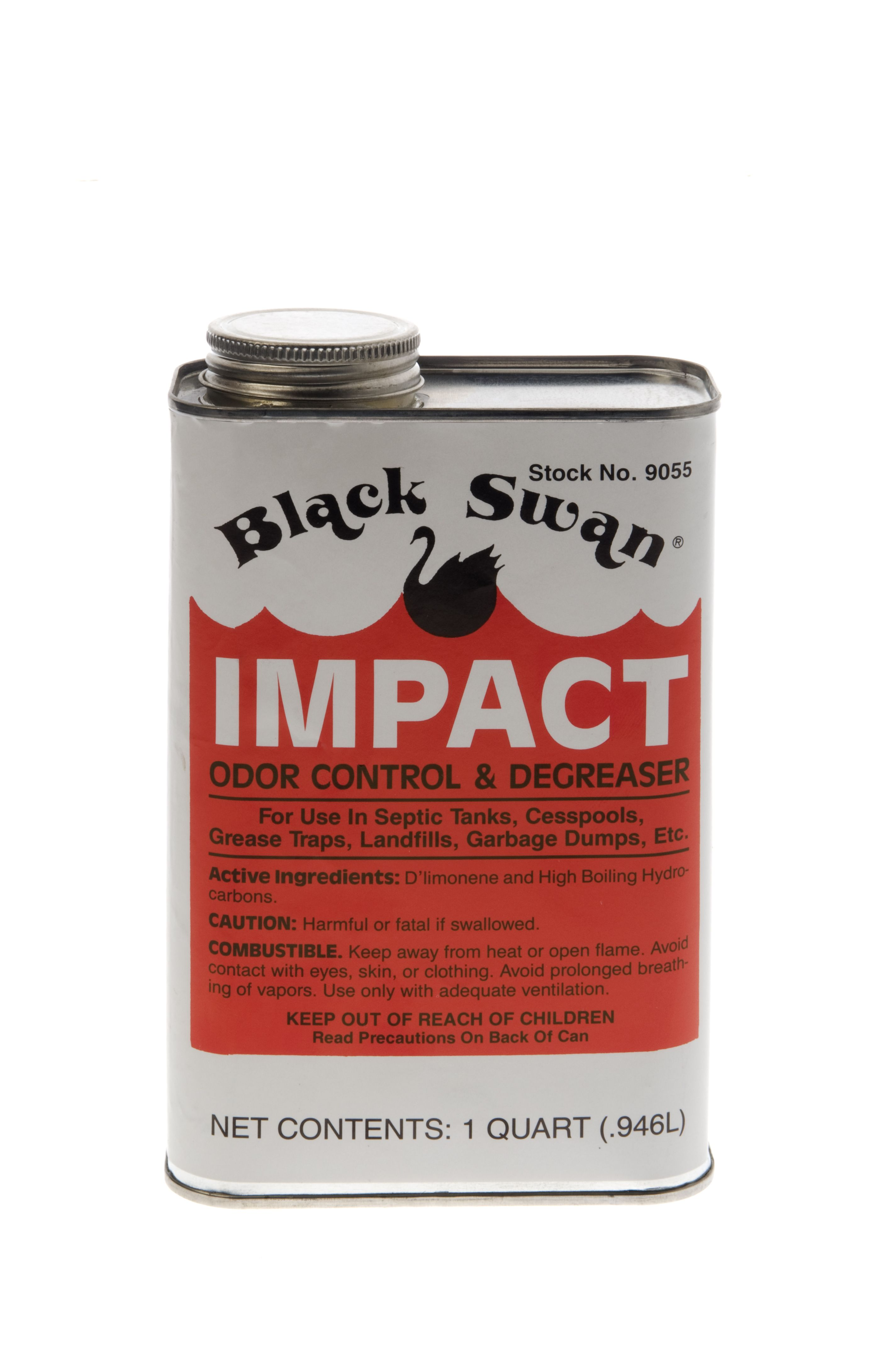 Black Swan Impact Dissolves Grease And Slime And Controls