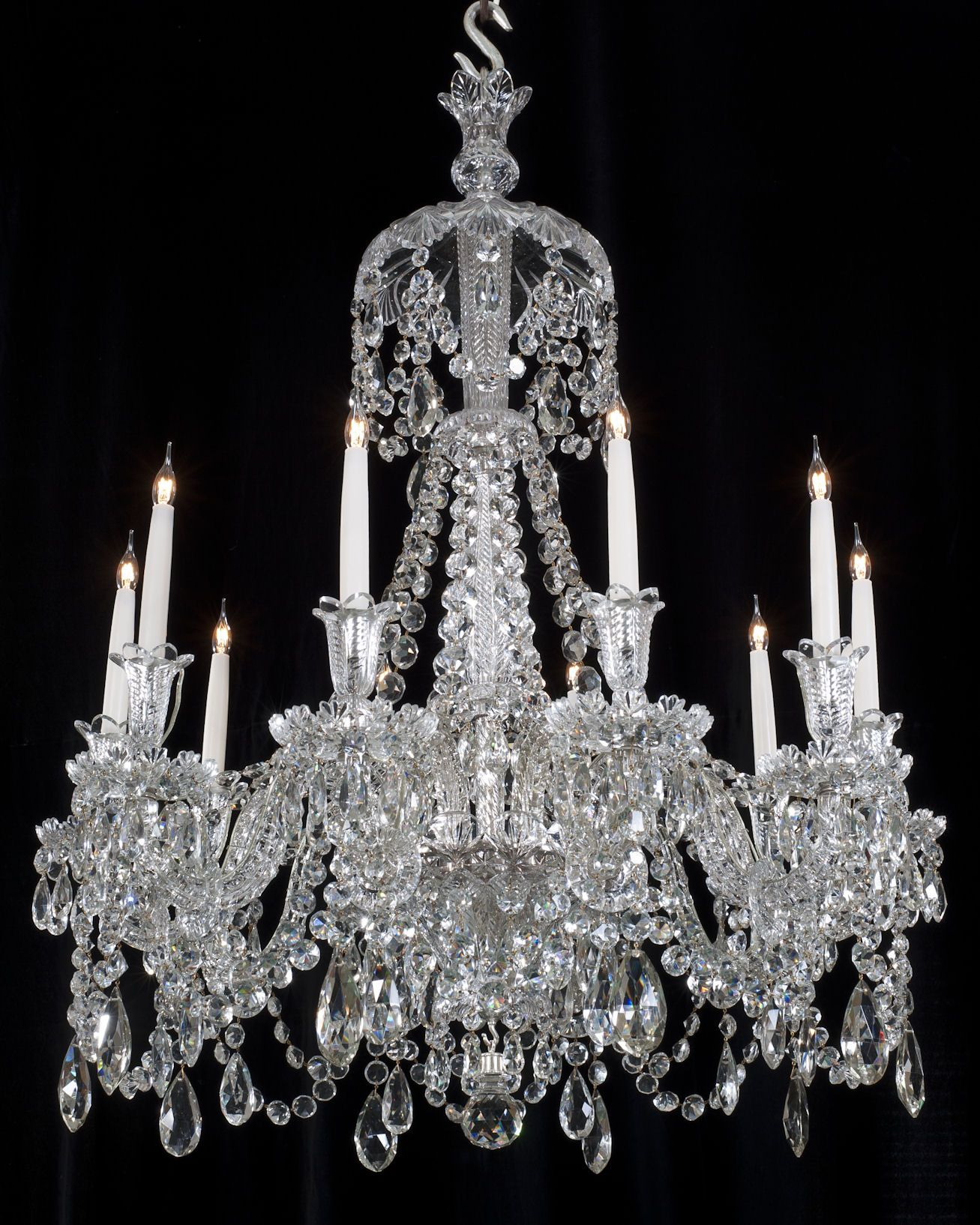 antique crystal chandalier Yahoo Image Search Results