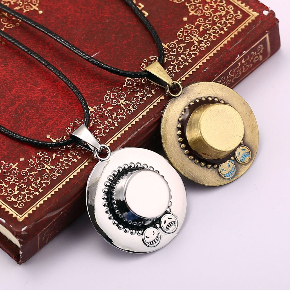 Anime One Piece Necklace Hat Pendant Jewelry Price 967 FREE