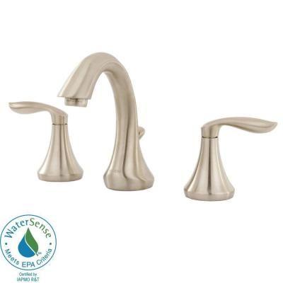 Moen Eva 8 In Widespread 2 Handle High Arc Bathroom Faucet Trim