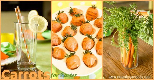 An Easter celebration designed around carrots.