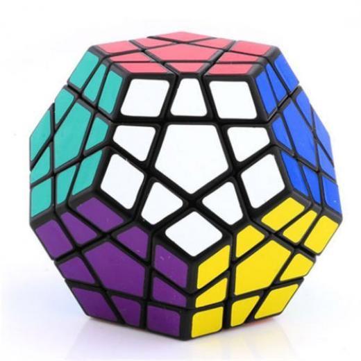 Shengshou New Megaminx Magic Cube Puzzle Twist High Speed 12 Color Toys Magic Cubes Besprod Cube Puzzle Rubiks Cube Cube