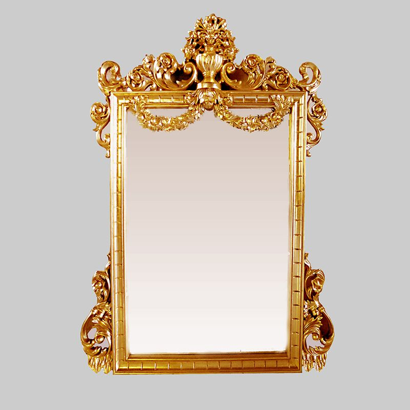 Wooden Frame Mirror Sinta Mg 030028 Dengan Gambar